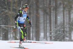 Enora Latuillieure - biathlon Stock Image