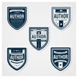 Enorm emblemmall Royaltyfri Illustrationer