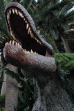 enorm insidamun för dinosaurs arkivbilder
