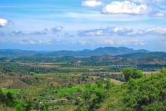 Enorm landschap in Centraal Vietnam royalty-vrije stock afbeelding