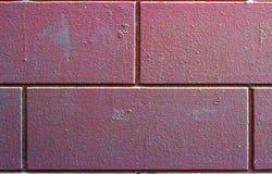 Enorm och smutsig tegelstenar, väggmodell eller textur bakgrundstegelstenclose som skjutas upp royaltyfri fotografi
