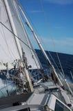 enorm segling Royaltyfri Fotografi