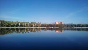 Enorm sjö Arkivbild