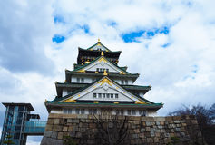 Enorm slott Arkivbilder