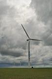enorm strömwind för generator Royaltyfri Foto