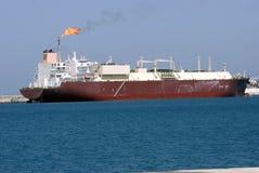 enorm tankfartyg för gas Royaltyfri Foto
