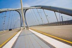 enorm väg för bro Royaltyfri Foto