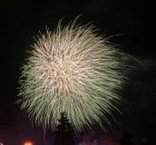 Enorm vuurwerk Stock Afbeelding