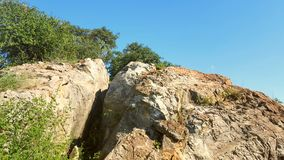 Enorma afrikanska stenblock Royaltyfria Bilder