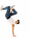 enorma breakdancing flyttningar Royaltyfri Fotografi