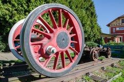 Enorma hjul av drevet Royaltyfria Foton