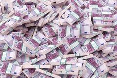enorma pengar Arkivfoton