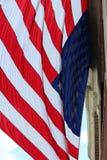 Enorme amerikanische Flagge Lizenzfreies Stockfoto