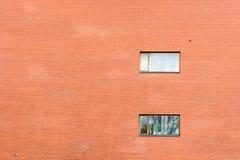 Enorme Backsteinmauer Lizenzfreies Stockfoto