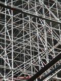 Enorme steiger voor een brug Stock Afbeelding