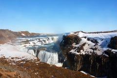 Enormer Wasserfall Stockfotografie