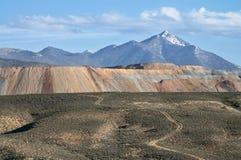 Enormes Bergwerk nahe Ruth, Nevada Lizenzfreies Stockfoto