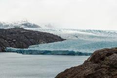 Glacier Grey Torres Del Paine National Park in Patagonia stock photos