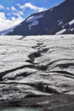 Enormous Glacier In Mountains Of Canada. Stock Images