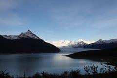 Enormous glacier. Perito Moreno glacier, south Argentina, Patagonia royalty free stock image