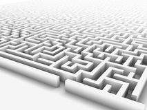 Enormous maze Stock Photo