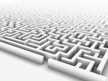 Enormous maze Stock Photo