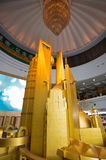 Enormous scale model of the future Shangha Royalty Free Stock Images