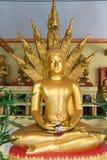Enormous, Solid Gold Buddha Statue in Bangkok, Thailand Royalty Free Stock Photos