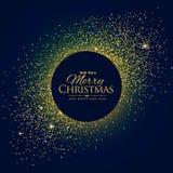 Enormt blänka bakgrund med jul och önska för nytt år vektor illustrationer