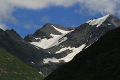 enormt kallt för bergskönhetfärg Arkivbild
