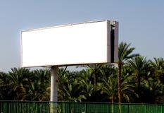 enormt utomhus- för affischtavla Arkivfoto