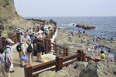 enoshima海岛 免版税库存图片