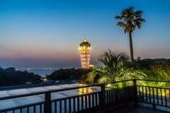 Enoshima灯塔 库存图片