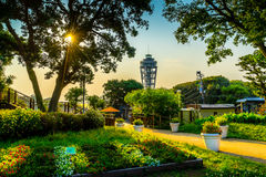Enoshima fyr Arkivbilder
