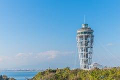 Enoshima havsstearinljus Arkivfoto
