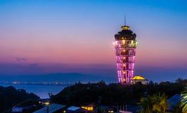 Enoshima-Leuchtturm stockfoto