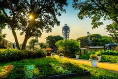 Enoshima lighthouse stock images