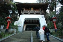 Enoshima Shrine. Enoshima shinto Shrine on Enoshima Island in Fujisawa, Kanagawa, Japan Royalty Free Stock Photo