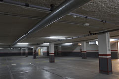 Enpty car park Royalty Free Stock Images