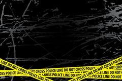 Enquête policière Images libres de droits