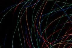 Enrarezca las rayas coloreadas Foto de archivo libre de regalías