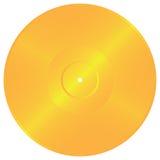 Enregistrement d'or Image libre de droits