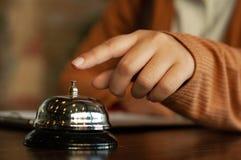 Enregistrement d'affaires d'hôtel image libre de droits