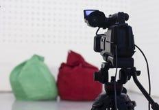 Enregistrement d'appareil-photo Image libre de droits