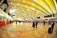 Enregistrement dans l'aéroport de Vienne Photos libres de droits