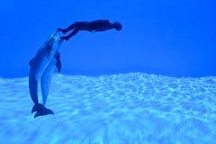 Enregistrement de Mondial dans Freediving4 Images libres de droits