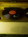 Enregistrement de phonographe, Photographie stock