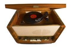 Enregistrement de phonographe, photo stock