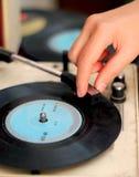 Enregistrement de phonographe Photo libre de droits