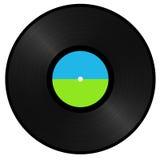 Enregistrement de vinyle Image stock